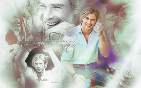 Picture collage, Chris Hemsworth, Chris Hemsworth