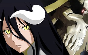 Picture skull, Overlord, The Lord, Albedo