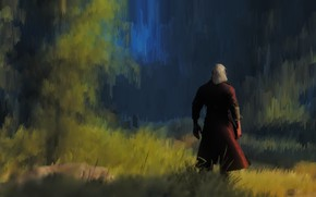 Picture the Witcher, Geralt, hunter, The Witcher 3, Wild Hunt