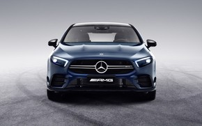 Picture China, Mercedes-Benz, front view, AMG, 4MATIC, A-Class, 2019, A35 L