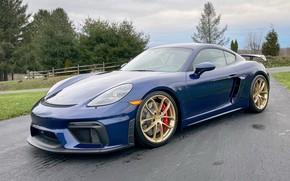 Picture Roadster, sports car, Porsche 718 Cayman, Porsche 718 Cayman GT4