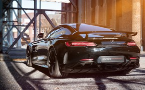 Picture Mercedes-Benz, rear view, AMG, 2018, Edo Competition, GT R