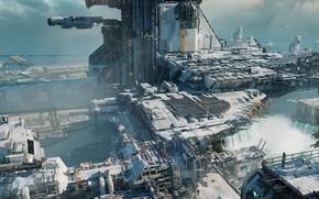 Picture Ship, Base, Platform