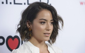 Picture look, pose, portrait, actress, photoshoot, hair, Chloe Bennet, Chloe Bennet