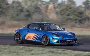Picture speed, racing car, Cup, Alpine, 2017, A110