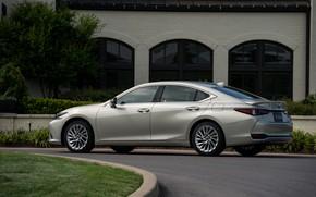 Picture Lexus, Toyota, sedan, side, hybrid, 2018, Avalon, four-door, ES 300h