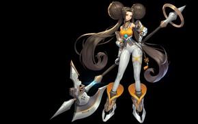 Picture the game, anime, art, costume design, Purple Moon, SCI FI-XingCai