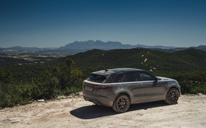 Picture the sky, valley, Land Rover, Range Rover, SUV, V8, Velar, 2019, Dynamic Edition, SV Autobiography