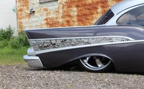Picture Chevrolet, Bel Air, Custom, Old car, Disk