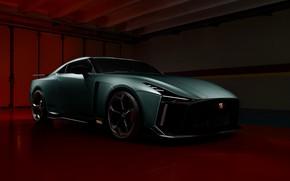 Picture Nissan, GT-R, sports car, R35, Nismo, ItalDesign, 2020, V6, GT-R50, 720 HP
