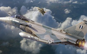 Picture the fourth generation, Dassault Rafale, Hellenic Air Force, French multi-role fighter, rOEN911, Hellenic Air Force …