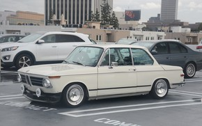 Picture BMW, wheels, style, retro, low