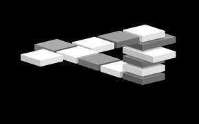Picture graphics, minimalism, vector, monochrome, on black, vector graphics, laconic, 2D graphics, computer of gravik, monochrome …
