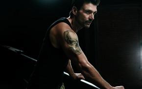Picture look, pose, the series, bristles, tattoo, Kingdom, Kingdom, skull tattoo, Frank Grillo, Frank Grillo, Alvi ...