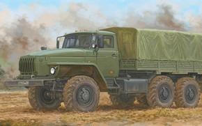 Picture RUSSIA, All terrain vehicle, Урал 4320, Армейски грузовик