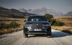 Picture road, BMW, before, 2018, crossover, SUV, 2019, BMW X7, X7, G07