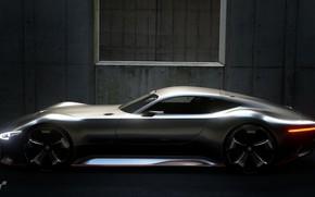Picture Mercedes, Machine, Mercedes, Vision, Gran Turismo Sport