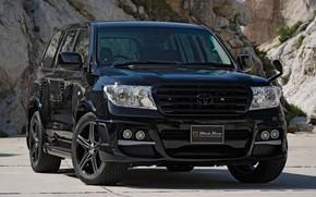 Picture Toyota, Toyota Land Cruiser 200, Vehicle, Black Bison, Modified, Black Bison Edition, Land Cruiser 200