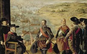 Picture Francisco de Zurbaran, The defense of Cadiz from the British, 1634