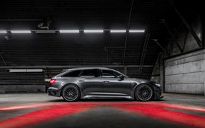 Picture Audi, ABBOT, universal, in profile, TFSI, RS 6, 2020, RS6-R, V8 Twin-Turbo, RS6 Avant, 4.0 …