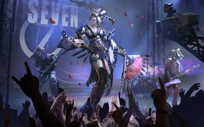 Picture Girl, Music, Japan, Robots, People, Asian, Japan, Concert, Geisha, Japanese, Art, Music, Robot, Robots, Fiction, …