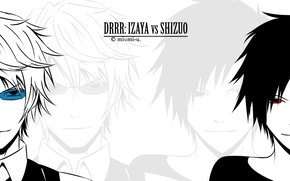 Picture face, guys, Durarara, Durarara, Shizuo Heiwajima, Of Izaya Orihara