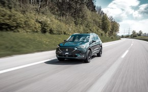 Picture road, speed, crossover, ABBOT, Seat, 2019, Tarraco