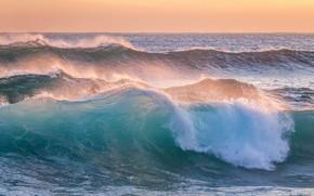 Picture sea, wave, waves, sea, sea foam, sea foam, photoholgic