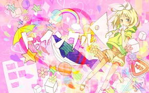 Picture anime, art, girl, Vocaloid