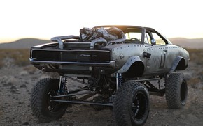 Picture Hot Rod, Dodge Charger, Custom, Mopar, Modified, Monster truck