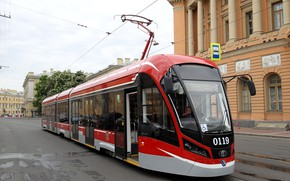 Picture Home, The city, Tram, The way