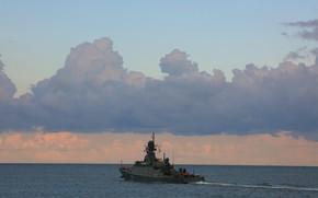 Picture ship, rocket, small, Грайворон