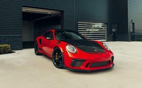 Picture 911, Porsche, Black, GT2 RS, RED, VAG