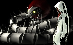 Picture snakes, guy, Bleach, Renji