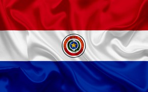 Picture background, flag, coat of arms, fon, flag, Paraguay, Paraguay, paraguay, coat of arms, Paraguay, the …