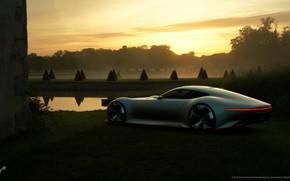 Picture Mercedes-Benz, Sunset, Auto, Machine, Mercedes, AMG, Vision GT, Mercedes-Benz SLS GT, Mercedes-Benz AMG, Transport & …