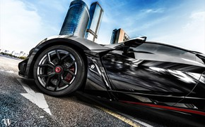 Picture Auto, Black, Disk, Wheel, Rendering, Supercar, Concept Art, Sports car, SuperSport, Transport & Vehicles, Benoit …