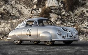 Picture Porsche, Coupe, Race car, 1951, 356SL, Old vehicle
