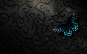 Picture butterfly, digital, art, butterfly, texure