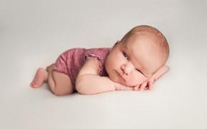 Picture pose, baby, child, baby, squint, Фалько Ману