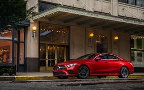 Picture Mercedes-Benz, CLS, sedan, AMG, 2018, 450