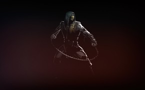 Picture Mortal Kombat, Scorpion, Concept Art, Mortal Kombat X, MKX, by Serg Souleiman, Serg Souleiman