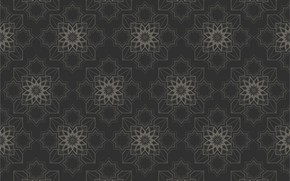 Picture grey, background, pattern, texture, geometry, ornament, background