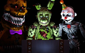 Picture light, the game, doll, Five Nights at Freddy's, mechanical dolls, Five nights at Freddy's