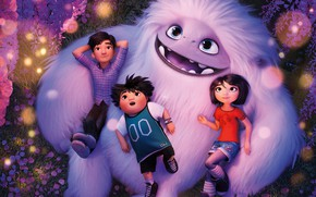 Picture children, monster, Everest, Abominable