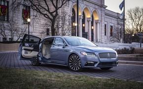 Picture auto, Lincoln, the building, Continental, Anniversary
