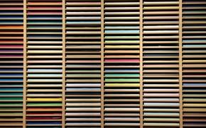 Picture paper, shelf, multi color