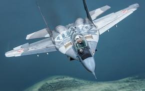Picture Fighter, The MiG-29, Pilot, Cockpit, Polish air force, ILS, RL