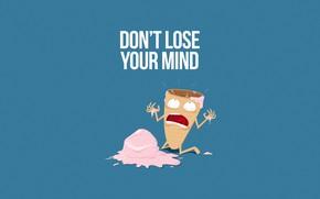 Picture Minimalism, Humor, Ice cream, Art, Scream, Illustration, Characters, Humor, Ice cream, The sweetness, Comic Art, …