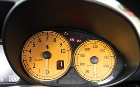 Picture Ferrari, Enzo, The instrument panel